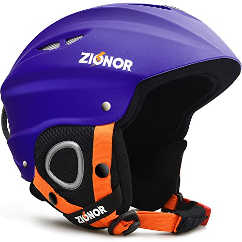 スノーボード ウィンタースポーツ 海外モデル ヨーロッパモデル アメリカモデル 【送料無料】ZIONOR Lagopus H1 Ski Snowboard Helmet for Men Women - Air Flow Control Adjustableスノーボード ウィンタースポーツ 海外モデル ヨーロッパモデル アメリカモデル