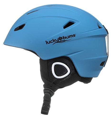 スノーボード ウィンタースポーツ 海外モデル ヨーロッパモデル アメリカモデル 15GBL Lucky Bums Powder Series, in-Mold Snow Sport Helmet, Glacier 青, Largeスノーボード ウィンタースポーツ 海外モデル ヨーロッパモデル アメリカモデル 15GBL