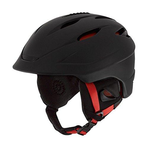 スノーボード ウィンタースポーツ 海外モデル ヨーロッパモデル アメリカモデル Giro Giro Seam Snow Helmet 2016 - Men's Matte Black/Bright Red Smallスノーボード ウィンタースポーツ 海外モデル ヨーロッパモデル アメリカモデル Giro