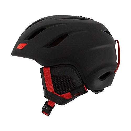 スノーボード ウィンタースポーツ 海外モデル ヨーロッパモデル アメリカモデル Giro 【送料無料】Giro Nine Snow Helmet - Men's Matte Black/Bright Red Smallスノーボード ウィンタースポーツ 海外モデル ヨーロッパモデル アメリカモデル Giro