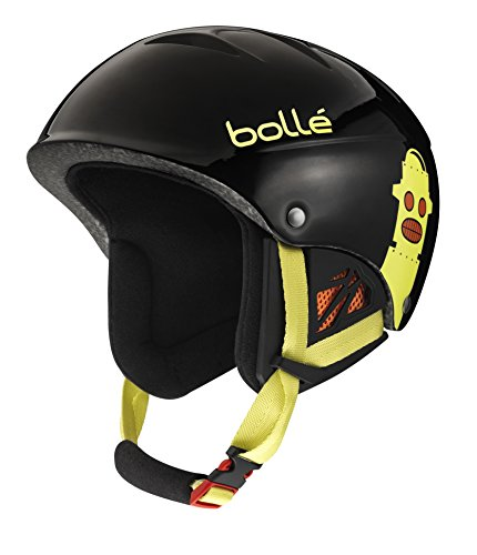 スノーボード ウィンタースポーツ 海外モデル ヨーロッパモデル アメリカモデル 30821 Bolle B-Kid Ski Helmet, Shiny Black Robots, 53-57cmスノーボード ウィンタースポーツ 海外モデル ヨーロッパモデル アメリカモデル 30821
