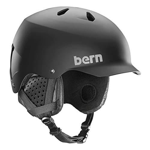 スノーボード ウィンタースポーツ 海外モデル ヨーロッパモデル アメリカモデル Bern BERN - Winter Watts EPS Snow Helmet, MIPS Matte Black with Black Liner, Mediumスノーボード ウィンタースポーツ 海外モデル ヨーロッパモデル アメリカモデル Bern