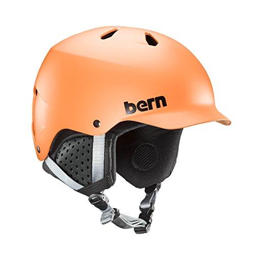 スノーボード ウィンタースポーツ 海外モデル ヨーロッパモデル アメリカモデル SM05E17MOR1 Bern Watts EPS Helmet (Matte Orange with Black Liner, Small)スノーボード ウィンタースポーツ 海外モデル ヨーロッパモデル アメリカモデル SM05E17MOR1