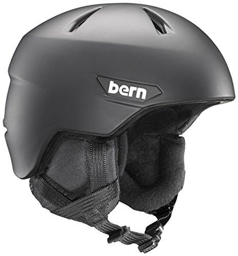 スノーボード ウィンタースポーツ 海外モデル ヨーロッパモデル アメリカモデル SM10Z17MBK2 BERN Weston Snow Helmet - Men's Matte Black/Black Liner Mediumスノーボード ウィンタースポーツ 海外モデル ヨーロッパモデル アメリカモデル SM10Z17MBK2
