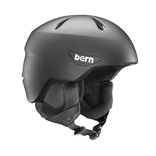 スノーボード ウィンタースポーツ 海外モデル ヨーロッパモデル アメリカモデル SM10Z17MBK3 BERN Weston Snow Helmet - Men's Matte Black/Black Liner Largeスノーボード ウィンタースポーツ 海外モデル ヨーロッパモデル アメリカモデル SM10Z17MBK3
