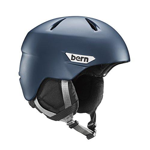 スノーボード ウィンタースポーツ 海外モデル ヨーロッパモデル アメリカモデル SM10Z17MMT3 BERN Weston Snow Helmet - Men's Matte Muted Teal/Black Liner Largeスノーボード ウィンタースポーツ 海外モデル ヨーロッパモデル アメリカモデル SM10Z17MMT3