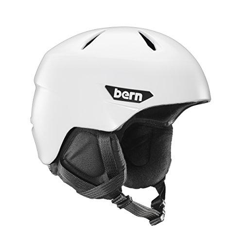 スノーボード ウィンタースポーツ 海外モデル ヨーロッパモデル アメリカモデル SM10Z17SWT2 BERN Men's Weston Snow Helmet Satin White Mスノーボード ウィンタースポーツ 海外モデル ヨーロッパモデル アメリカモデル SM10Z17SWT2