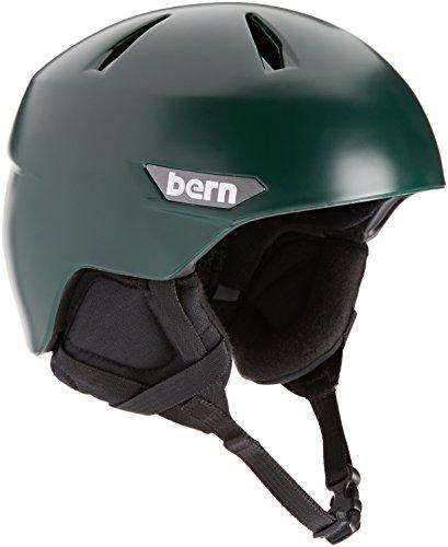 スノーボード ウィンタースポーツ 海外モデル ヨーロッパモデル アメリカモデル SM10ZSHGR01 BERN 2016/17 Men's Weston EPS Winter Snow Helmet - w/Earflaps (Satin Hunter スノーボード ウィンタースポーツ 海外モデル ヨーロッパモデル アメリカモデル SM10ZSHGR01