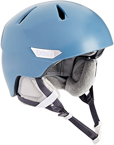 スノーボード ウィンタースポーツ 海外モデル ヨーロッパモデル アメリカモデル SW10ZSATB11 BERN 2016/17 Women's Bristow Zipmold Winter Snow Helmet w/Liner (Satin Atlanスノーボード ウィンタースポーツ 海外モデル ヨーロッパモデル アメリカモデル SW10ZSATB11