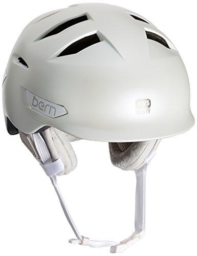 スノーボード ウィンタースポーツ 海外モデル ヨーロッパモデル アメリカモデル SW08ZSDGR11 Bern Women's Hepburn Snow Helmet, Satin Delphin Grey w/Grey Liner, XS/Sスノーボード ウィンタースポーツ 海外モデル ヨーロッパモデル アメリカモデル SW08ZSDGR11
