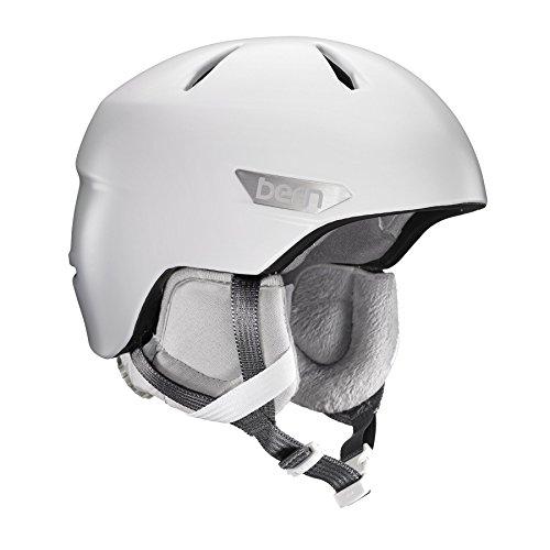 スノーボード ウィンタースポーツ 海外モデル ヨーロッパモデル アメリカモデル SW10ZSWHT11 Bern 2016/17 Women's Bristow Zipmold Winter Snow Helmet w/Liner (Satin Whiteスノーボード ウィンタースポーツ 海外モデル ヨーロッパモデル アメリカモデル SW10ZSWHT11