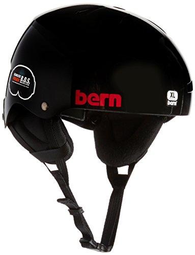 スノーボード ウィンタースポーツ 海外モデル ヨーロッパモデル アメリカモデル SM12EGBKH04 BERN Team Macon EPS Thin Shell Helmet - Men's Black Henrik, X-Largeスノーボード ウィンタースポーツ 海外モデル ヨーロッパモデル アメリカモデル SM12EGBKH04