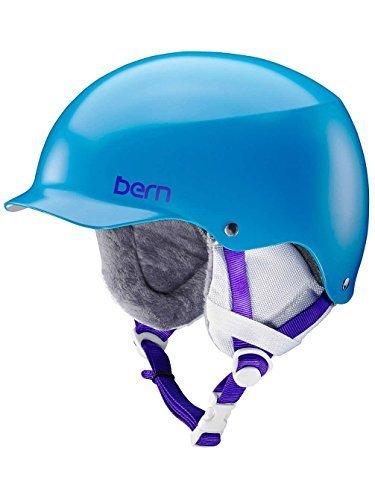 スノーボード ウィンタースポーツ 海外モデル ヨーロッパモデル アメリカモデル SW14ESOBL03 Bern 2016/17 Women's Team Muse EPS Winter Snow Helmet w/Knit Liner (Satin Ocスノーボード ウィンタースポーツ 海外モデル ヨーロッパモデル アメリカモデル SW14ESOBL03