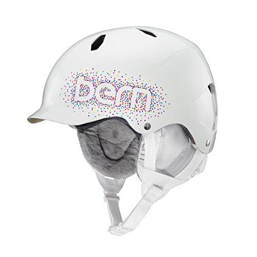 スノーボード ウィンタースポーツ 海外モデル ヨーロッパモデル アメリカモデル SG03E17GWC1 Bern Bandita EPS Thin Shell Helmet - Girls' (Gloss White Confetti with Whiteスノーボード ウィンタースポーツ 海外モデル ヨーロッパモデル アメリカモデル SG03E17GWC1