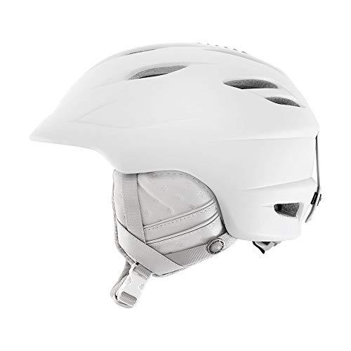 スノーボード ウィンタースポーツ 海外モデル ヨーロッパモデル アメリカモデル 7072393 Giro Sheer Womens Snow Helmet White Cross Stitch Sスノーボード ウィンタースポーツ 海外モデル ヨーロッパモデル アメリカモデル 7072393