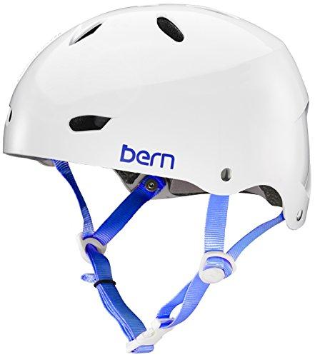 スノーボード ウィンタースポーツ 海外モデル ヨーロッパモデル アメリカモデル BW02MGWHT03 BERN Bike Team Brighton MIPS Helmet - Women's Gloss White Largeスノーボード ウィンタースポーツ 海外モデル ヨーロッパモデル アメリカモデル BW02MGWHT03