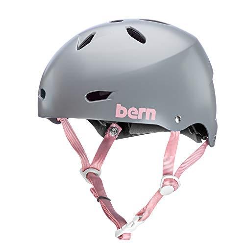 スノーボード ウィンタースポーツ 海外モデル ヨーロッパモデル アメリカモデル BW02ESGRY03 BERN - Team Brighton EPS Helmet, Satin Light Grey, Largeスノーボード ウィンタースポーツ 海外モデル ヨーロッパモデル アメリカモデル BW02ESGRY03