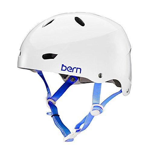 スノーボード ウィンタースポーツ 海外モデル ヨーロッパモデル アメリカモデル BW02EGWHT01 BERN - Team Brighton EPS Helmet, Gloss White, Smallスノーボード ウィンタースポーツ 海外モデル ヨーロッパモデル アメリカモデル BW02EGWHT01
