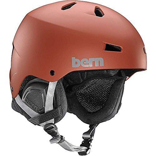 スノーボード ウィンタースポーツ 海外モデル ヨーロッパモデル アメリカモデル Bern Bern Macon EPS Helmet - Men's Matte Oxblood Red, Large/X-Largeスノーボード ウィンタースポーツ 海外モデル ヨーロッパモデル アメリカモデル Bern
