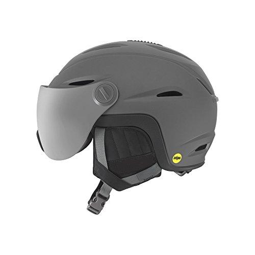 スノーボード ウィンタースポーツ 海外モデル ヨーロッパモデル アメリカモデル Giro 【送料無料】Giro Vue MIPS Snow Helmet with Integrated Goggle Shield Matte Titanium Sスノーボード ウィンタースポーツ 海外モデル ヨーロッパモデル アメリカモデル Giro