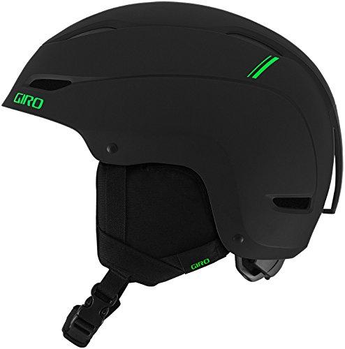 スノーボード ウィンタースポーツ 海外モデル ヨーロッパモデル アメリカモデル 7082581 Giro Ratio Snow Helmet Matte Black/Green Sport Tech S (52-55.5cm)スノーボード ウィンタースポーツ 海外モデル ヨーロッパモデル アメリカモデル 7082581