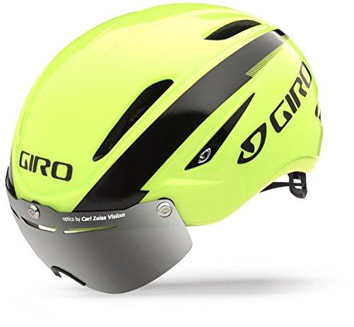 スノーボード ウィンタースポーツ 海外モデル ヨーロッパモデル アメリカモデル Giro Giro Air Attack Shield Road Helmet - Closeout - HIVIZ YELLOW/BLACK, MEDIUMスノーボード ウィンタースポーツ 海外モデル ヨーロッパモデル アメリカモデル Giro