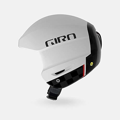 スノーボード ウィンタースポーツ 海外モデル ヨーロッパモデル アメリカモデル 7074401 【送料無料】Giro Avance MIPS Race Snow Helmet - Matte White/Carbon - Size S (5スノーボード ウィンタースポーツ 海外モデル ヨーロッパモデル アメリカモデル 7074401