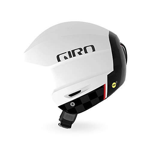 スノーボード ウィンタースポーツ 海外モデル ヨーロッパモデル アメリカモデル 7074402 【送料無料】Giro Avance MIPS Race Snow Helmet - Matte White/Carbon - Size M (5スノーボード ウィンタースポーツ 海外モデル ヨーロッパモデル アメリカモデル 7074402