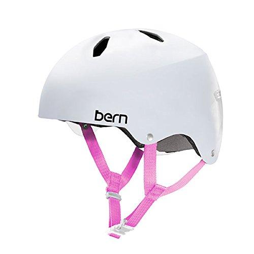 スノーボード ウィンタースポーツ 海外モデル ヨーロッパモデル アメリカモデル Bern 2017 Diabla Summer EPS Satin White w/MIPS - Smallスノーボード ウィンタースポーツ 海外モデル ヨーロッパモデル アメリカモデル