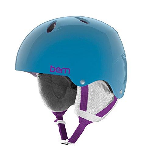 スノーボード ウィンタースポーツ 海外モデル ヨーロッパモデル アメリカモデル Bern Bern Girls Diabla Helmet (Translucent Blue/Large)スノーボード ウィンタースポーツ 海外モデル ヨーロッパモデル アメリカモデル Bern