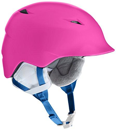 スノーボード ウィンタースポーツ 海外モデル ヨーロッパモデル アメリカモデル SG02ZSPNK21 BERN Camina Helmet Girls' Satin Pink XS/Sスノーボード ウィンタースポーツ 海外モデル ヨーロッパモデル アメリカモデル SG02ZSPNK21
