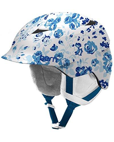 スノーボード ウィンタースポーツ 海外モデル ヨーロッパモデル アメリカモデル SG02ZSWHF21 BERN Girls Camina Helmet (Satin Winter Floral | X-Small/Small)スノーボード ウィンタースポーツ 海外モデル ヨーロッパモデル アメリカモデル SG02ZSWHF21
