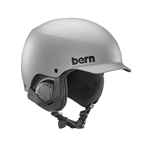 スノーボード ウィンタースポーツ 海外モデル ヨーロッパモデル アメリカモデル SM04E17MGR2 Bern Baker Snow Helmet (Matte Grey with Black Liner, Medium)スノーボード ウィンタースポーツ 海外モデル ヨーロッパモデル アメリカモデル SM04E17MGR2