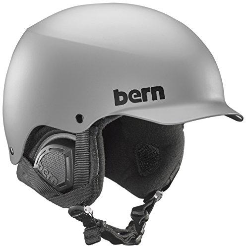 スノーボード ウィンタースポーツ 海外モデル ヨーロッパモデル アメリカモデル Bern 【送料無料】BERN Baker MIPS Snow Helmet (Matte Grey MIPS with Black Liner, Small)スノーボード ウィンタースポーツ 海外モデル ヨーロッパモデル アメリカモデル Bern