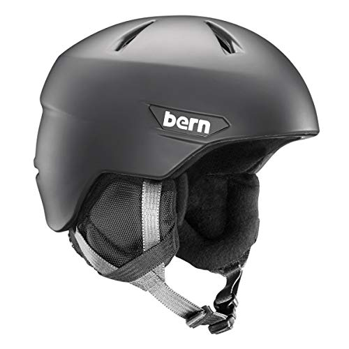 スノーボード ウィンタースポーツ 海外モデル ヨーロッパモデル アメリカモデル SB05ZMBLK22 【送料無料】BERN - Kids Weston Jr Snow Helmet, Matte Black, S/Mスノーボード ウィンタースポーツ 海外モデル ヨーロッパモデル アメリカモデル SB05ZMBLK22