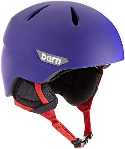 スノーボード ウィンタースポーツ 海外モデル ヨーロッパモデル アメリカモデル SB05ZMCBL21 BERN 2016/17 Kids/Juniors Weston JR Winter Snow Helmet (Matte Cobalt Blue w/スノーボード ウィンタースポーツ 海外モデル ヨーロッパモデル アメリカモデル SB05ZMCBL21