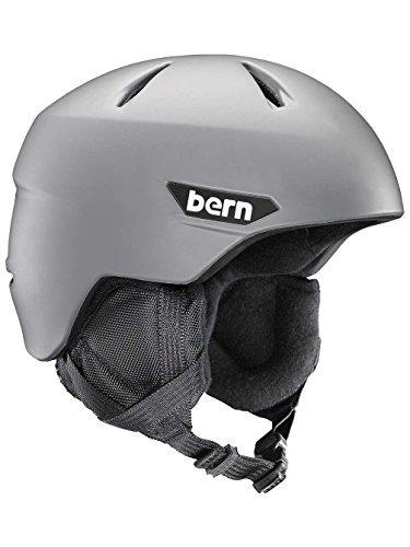 スノーボード ウィンタースポーツ 海外モデル ヨーロッパモデル アメリカモデル Bern BERN 2016/17 Kids/Juniors Weston JR Winter Snow Helmet (Matte Grey w/Black Liner - XS/S)スノーボード ウィンタースポーツ 海外モデル ヨーロッパモデル アメリカモデル Bern