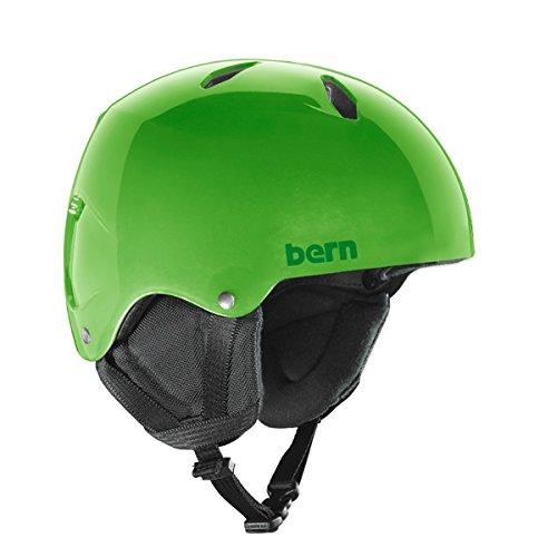 スノーボード ウィンタースポーツ 海外モデル ヨーロッパモデル アメリカモデル Bern Bern 2017/18 Youth/Teen Diablo Team EPS Thin Shell EPS Winter Snow Helmet (Translucent Neoスノーボード ウィンタースポーツ 海外モデル ヨーロッパモデル アメリカモデル Bern