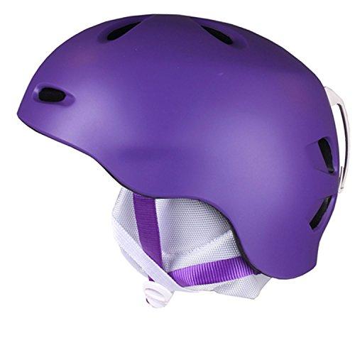 スノーボード ウィンタースポーツ 海外モデル ヨーロッパモデル アメリカモデル W3MPL BERN Berkeley Helmet - Women's Matte Purple, XS/Sスノーボード ウィンタースポーツ 海外モデル ヨーロッパモデル アメリカモデル W3MPL