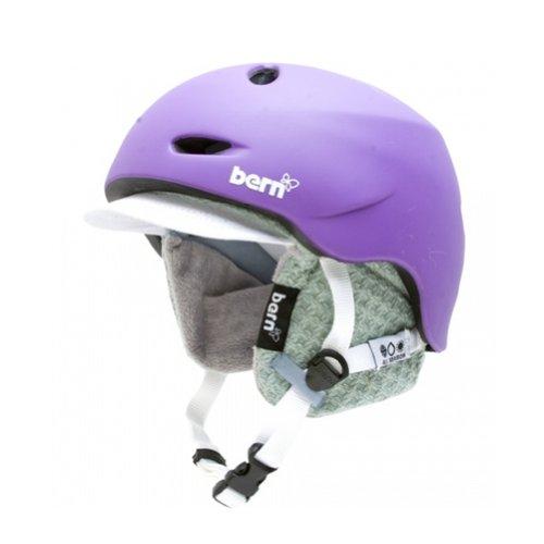 W3MPVXS Helmet Matte Visor (X-Small)スノーボード 海外モデル ウィンタースポーツ Bern スノーボード ヨーロッパモデル Knit Purple 海外モデル アメリカモデル ウィンタースポーツ Berkeley with アメリカモデル ヨーロッパモデル W3MPVXS