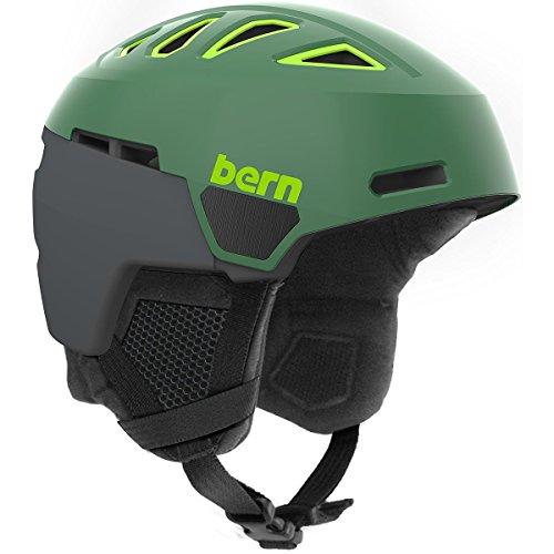 スノーボード ウィンタースポーツ 海外モデル ヨーロッパモデル アメリカモデル SM01D17SLG1 Bern Men's Heist Snow Helmet-SatinLeafGreen-Sスノーボード ウィンタースポーツ 海外モデル ヨーロッパモデル アメリカモデル SM01D17SLG1