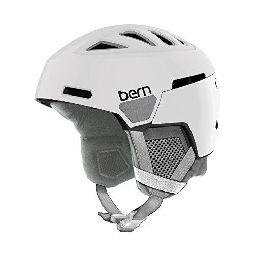 スノーボード ウィンタースポーツ 海外モデル ヨーロッパモデル アメリカモデル SW01D17SWT1 Bern Heist Helmet - Women's Satin White/Grey Liner Smallスノーボード ウィンタースポーツ 海外モデル ヨーロッパモデル アメリカモデル SW01D17SWT1