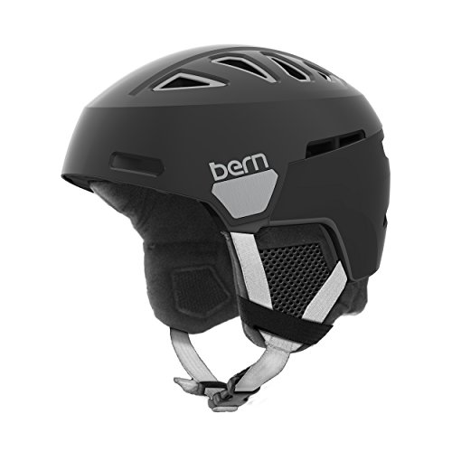 スノーボード ウィンタースポーツ 海外モデル ヨーロッパモデル アメリカモデル SW01D17SBK2 Bern Women's Heist Helmet (Satin Black with Black Liner, Medium)スノーボード ウィンタースポーツ 海外モデル ヨーロッパモデル アメリカモデル SW01D17SBK2
