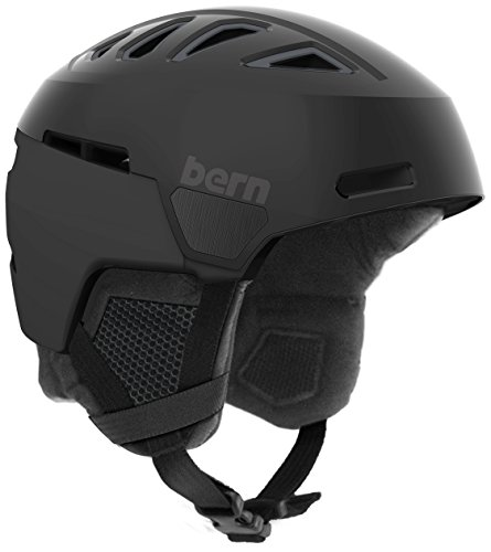 スノーボード ウィンタースポーツ 海外モデル ヨーロッパモデル アメリカモデル Bern Bern Men's Heist Helmet (Satin Black with Black Liner, Small)スノーボード ウィンタースポーツ 海外モデル ヨーロッパモデル アメリカモデル Bern