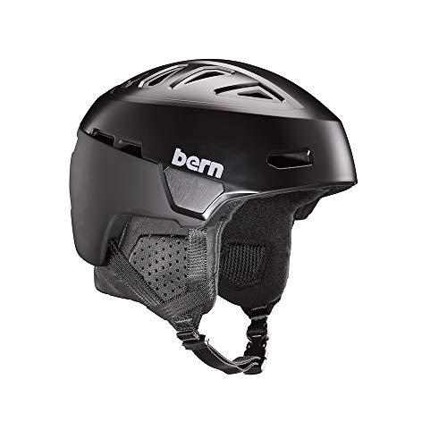 スノーボード ウィンタースポーツ 海外モデル ヨーロッパモデル アメリカモデル Bern 【送料無料】Bern Men's Heist Helmet (Satin Black with Black Liner, Medium)スノーボード ウィンタースポーツ 海外モデル ヨーロッパモデル アメリカモデル Bern