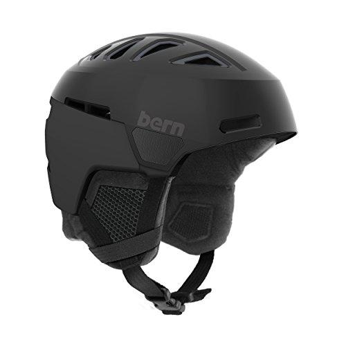 スノーボード ウィンタースポーツ 海外モデル ヨーロッパモデル アメリカモデル Bern Bern Men's Heist Helmet (Satin Black with Black Liner, Large)スノーボード ウィンタースポーツ 海外モデル ヨーロッパモデル アメリカモデル Bern