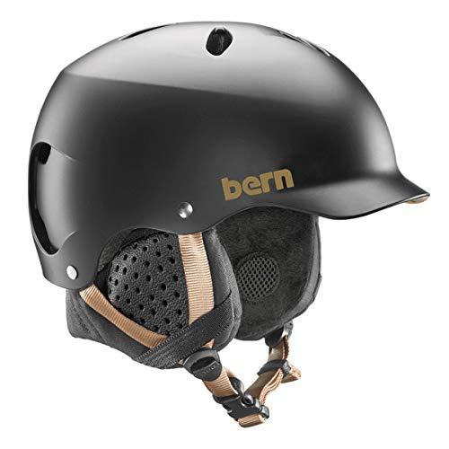 スノーボード ウィンタースポーツ 海外モデル ヨーロッパモデル アメリカモデル Bern BERN - Women's Winter Lenox EPS Snow Helmet, MIPS Satin Black with Black Liner, Mediumスノーボード ウィンタースポーツ 海外モデル ヨーロッパモデル アメリカモデル Bern