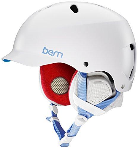 スノーボード ウィンタースポーツ 海外モデル ヨーロッパモデル アメリカモデル Bern BERN Women's Lenox MIPS Snow Helmet Satin White Mスノーボード ウィンタースポーツ 海外モデル ヨーロッパモデル アメリカモデル Bern