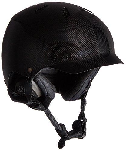 スノーボード ウィンタースポーツ 海外モデル ヨーロッパモデル アメリカモデル SM05CCBLK01 Bern Watts Carbon Fiber Snow Helmet (Gel Coat Black/Black Liner, S/M)スノーボード ウィンタースポーツ 海外モデル ヨーロッパモデル アメリカモデル SM05CCBLK01