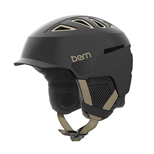 スノーボード ウィンタースポーツ 海外モデル ヨーロッパモデル アメリカモデル SW00D17SBK3 【送料無料】Bern Women's Heist Brim Helmet (Satin Black with Black Linスノーボード ウィンタースポーツ 海外モデル ヨーロッパモデル アメリカモデル SW00D17SBK3